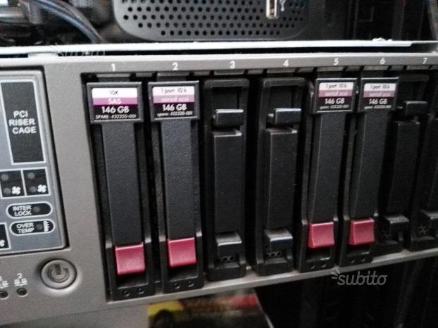 Server HP DL380 G5 praticamente nuovo
