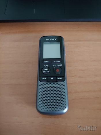 Sony registratore vocale ICDPX240 memoria 4GB