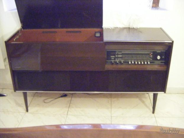 LUMOPHON radio giradischi stereo vintage