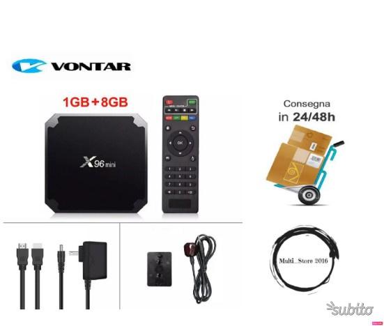 VONTAR X96 mini TV BOX Android 7.1 OS Smart TV 8Gb