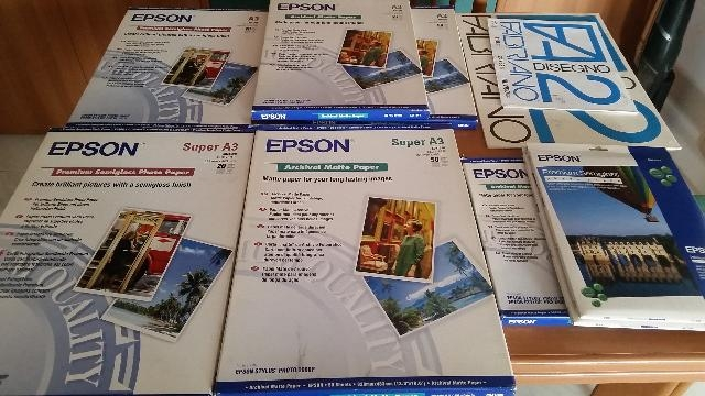 CARTA FOTOGRAFICA EPSON VARI FORMATI