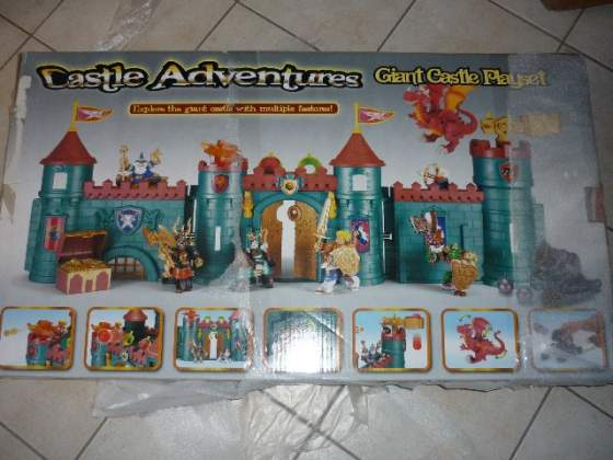 Castello medievale per bambini, Giant Castle Playset