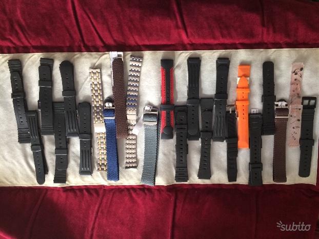 Cinturini morellato acciaio e gomma a stock