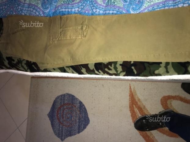 Pantaloni nuovi originali Murphy e Nye verde milit