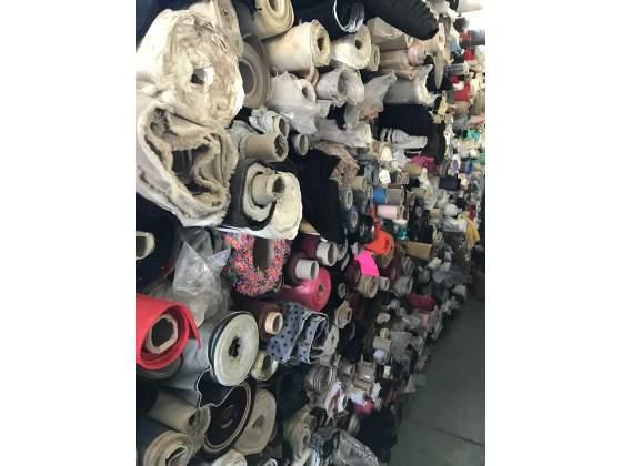 Stock tessuto calzatura e pelletteria