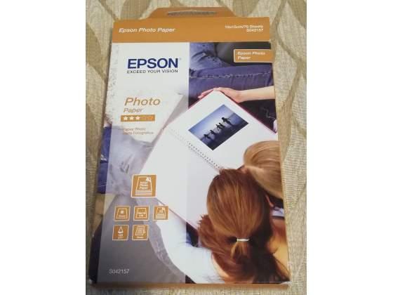 Carta fotografica epson 10x15 cm