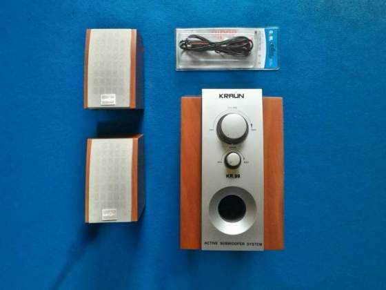 Speaker casse audio 2.1 KRAUN computer