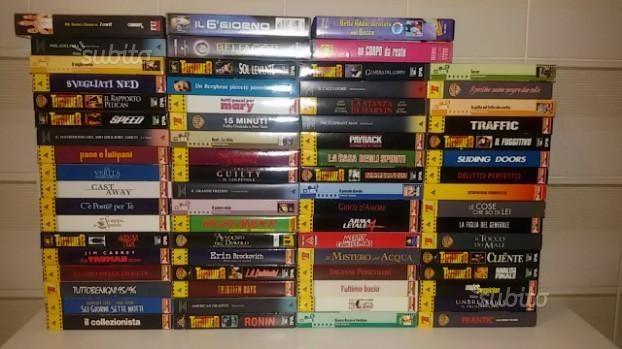 70 VHS ORIGINALI