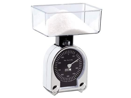 Bilancia da cucina 1 kg - 20 g abs cromata eva