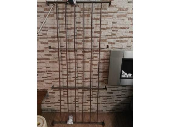 Inferriata color ferro micaceo marrone