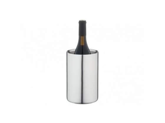 Raffredda bottiglie glacette inox satinato doppia parete eva
