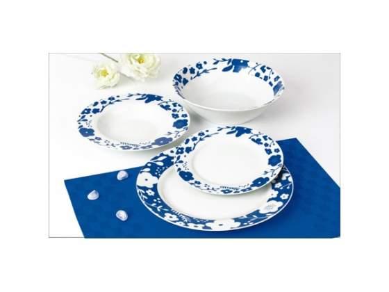 Servizio tavola 31 pezzi Primula blu Casapinto