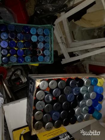 100 Bombolette circa nuove vari colori