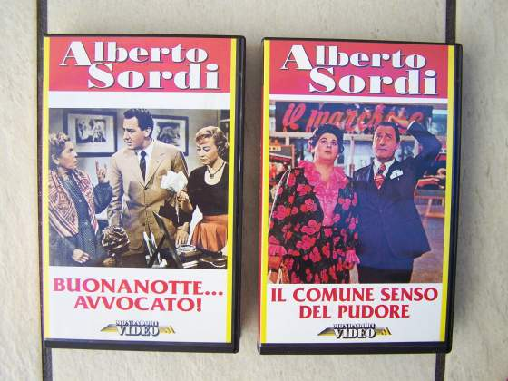 Alberto Sordi Mr. Bean VHS
