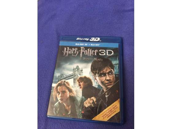 Blu-Ray 3D Harry Potter E I Doni Della Morte Parte I