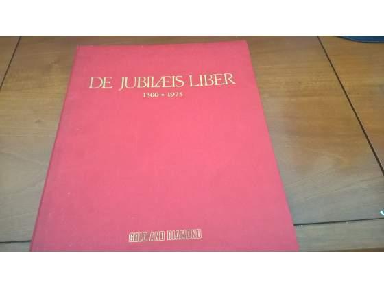 LIBRO THE JUBILAEIS LIBER  francobolli argento