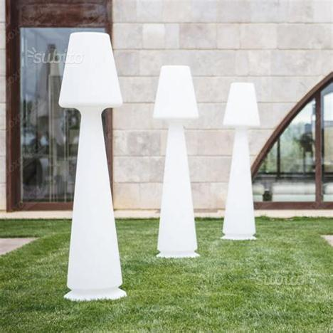 Lampada in resina da interno esterno led design