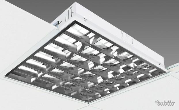 Plafoniere neon soffitto lampada ufficio