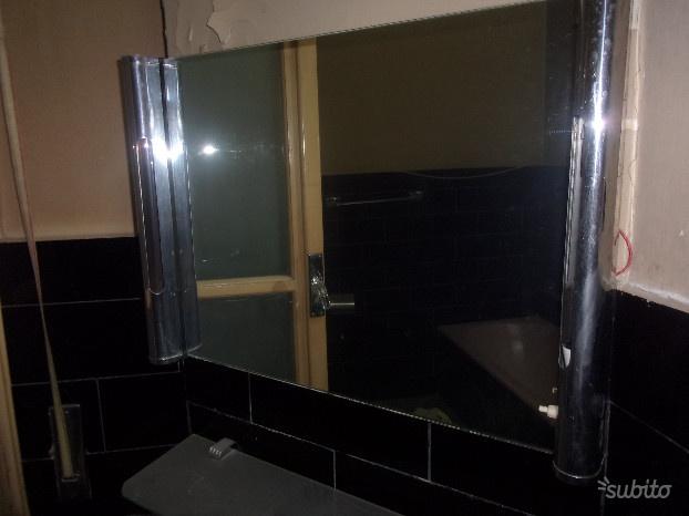 Antico specchio da bagno vintage anni  raro