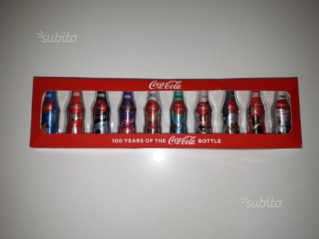 Coca Cola confezione promo 10 mini bottiglie