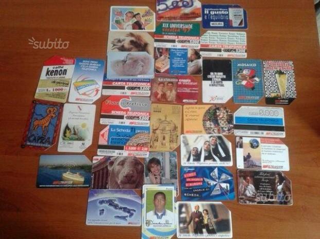 Collezione Schede telefoniche anni  ITA E EU