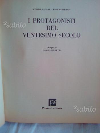 Libro (I PROTAGONISTI DEL 20simo secolo