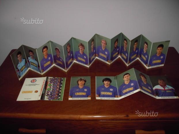 Lotto 19 cartoline ufficiali Fiorentina