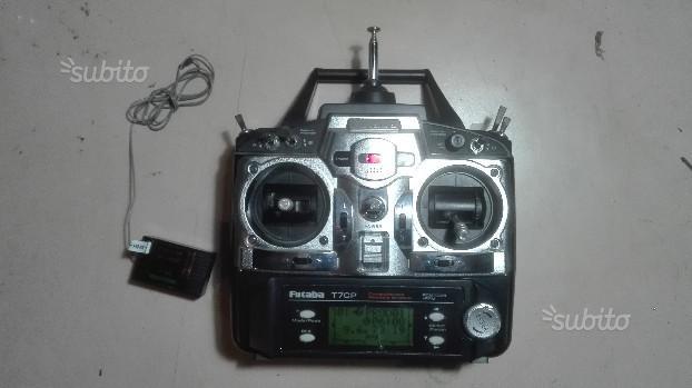Radiocomando Futaba T7CP 7CH con ricevente