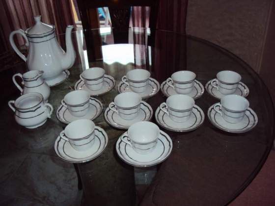 Set da caffè 10 tazze BAVARIA