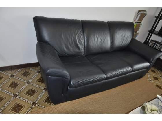 Vendo due divani in pelle