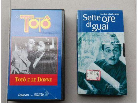 2 Film di Totò in VHS