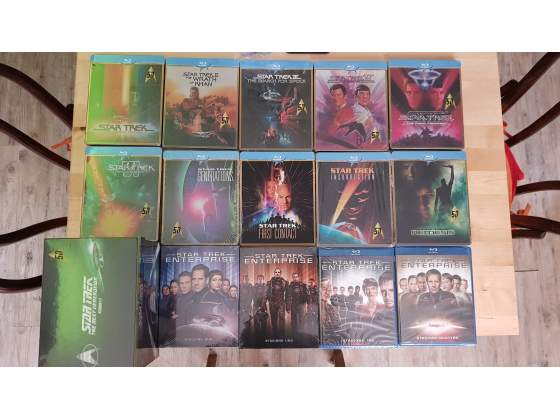 Bluray star trek saga steelbook tv next generation