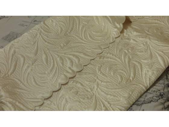 Copertina neonato di cotone bianco rimini posot class for Eminflex singolo a 79 euro