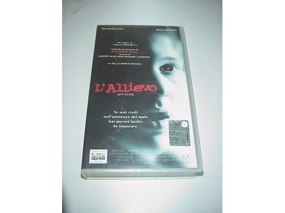 L'allievo vhs videocassetta film video cassetta horror