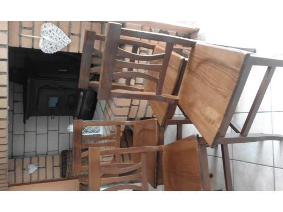 Occasione: n.5 sedie in legno massello come nuove!