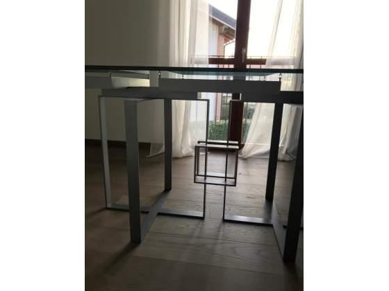 Tavolo di cristallo