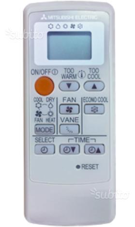 Telecomando Condizionatore Mitsubishi Posot Class