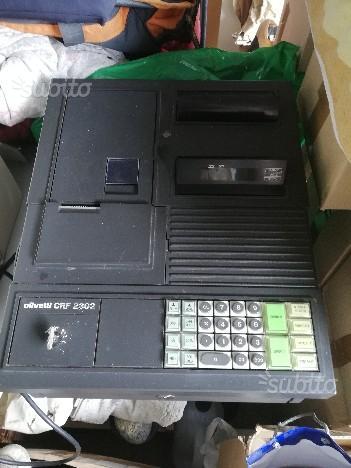 Antico registratore di cassa