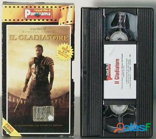 IL GLADIATORE RUSSELL CROWE VHS