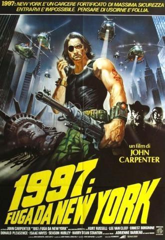 LOCANDINA FILM  FUGA DA NEW YORK