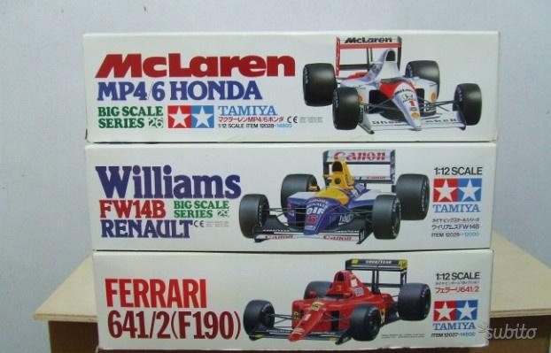 Lotto kit F1 Tamiya 1/12