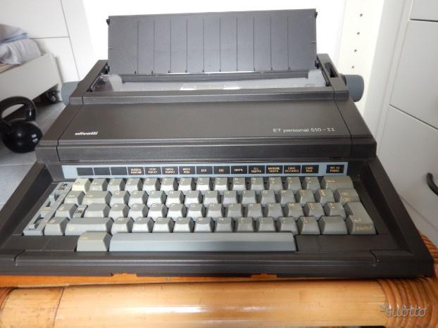Macchina da scrivere elettrica Olivetti Et 510-II