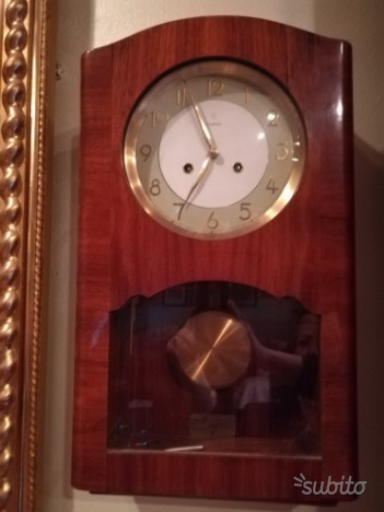 Orologio a pendolo anni 40
