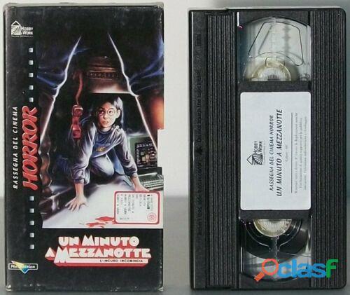 Un minuto a mezzanotte Rassegna del cinema HORROR FILM VHS