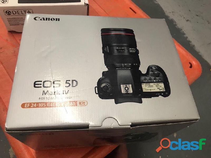 Fotocamera reflex digitale Canon EOS 5D Mark IV 30.4MP con