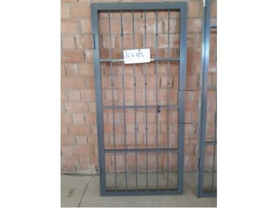 Cancello in ferro battuto verniciato