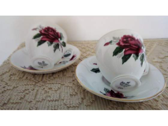 "Duchess Bone China England"" - 2 trio tazzine vintage"