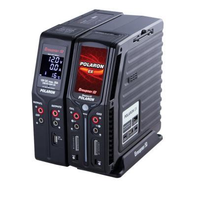 Graupner S - Polaron Ex Combo Caricabatterie - Nero