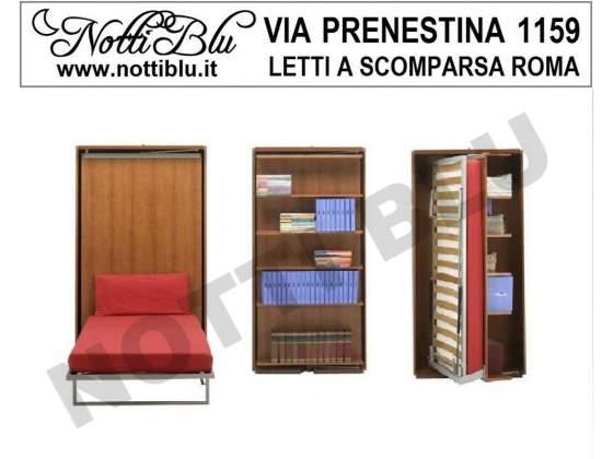 Letti a Scomparsa _ Letto Singolo VE350 Via PRENESTINA