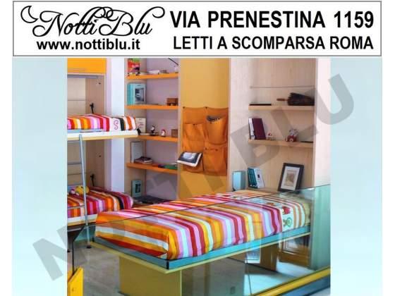 Letti a Scomparsa _ Letto Singolo VE372 Via PRENESTINA